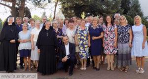 "10 lat wspólnoty ""Faustinum"" wKiekrzu"