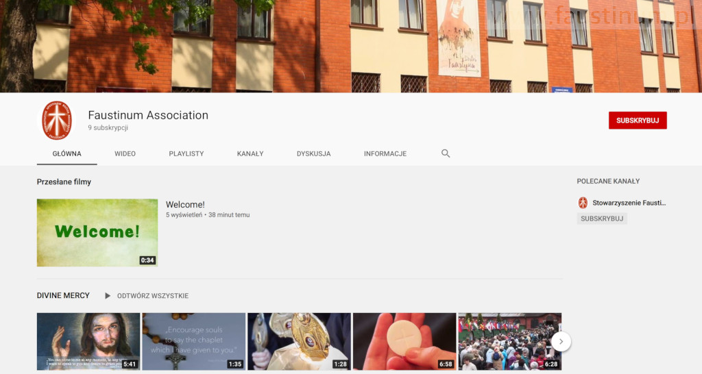 NEW Faustinum YouTube Channel