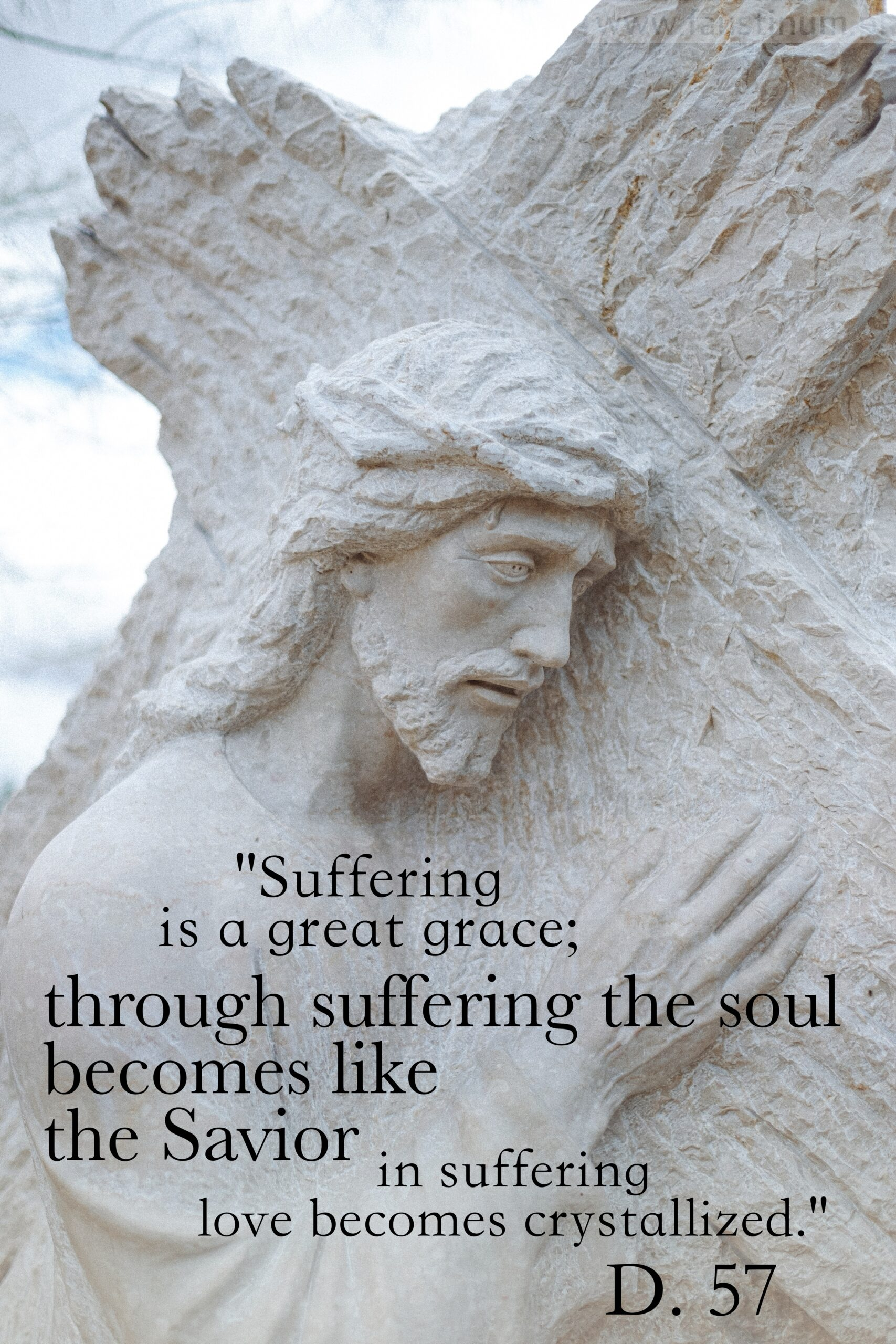 Diary of St. Faustina, about suffering, D. 57