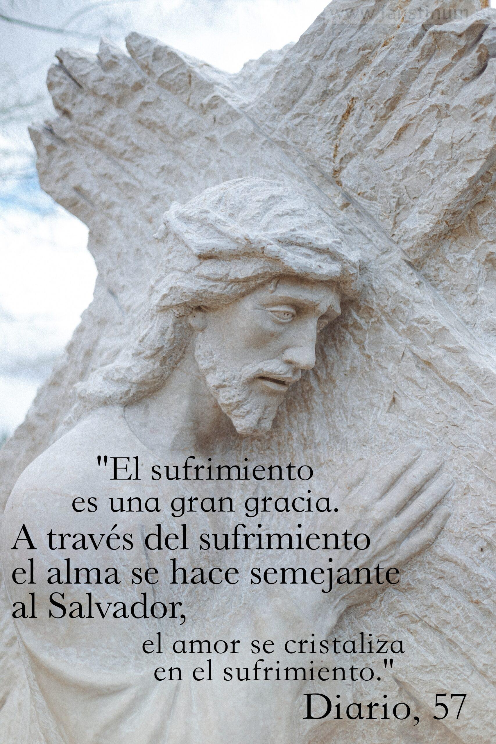 Diario Santa Faustina, Sufrimiento, D. 57