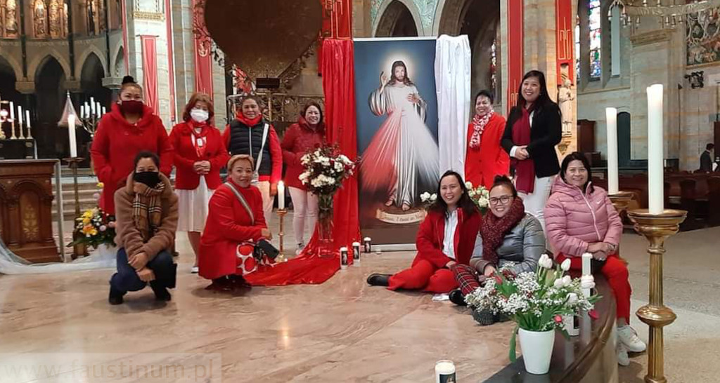Divine Mercy Sunday in Haarlem, The Netherlands
